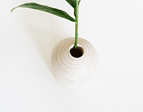 Woodball planter