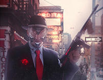 New York 2130 : Little Italy district, the Godfather