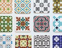 Budapest Tile Tales Coasters