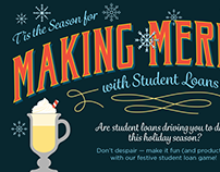 Making Merry with Student Loans Infographic - SoFi