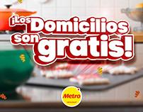 Domicilios Gratis - METRO