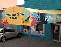 Flatbush Caton Market Signage