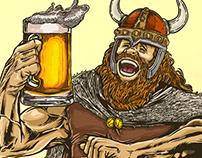 """""""Mirador de los Risco"""" Beer labeling"""