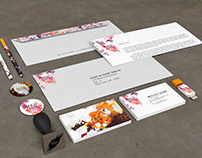 Mad Crazy Flowers Branding