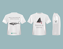 Save the ocean - T-shirt project