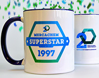 mercachem | anniversary branding, event & partybox