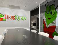 DersKurdu Logo Çalışması