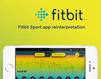 Fitbit - reinterpretation