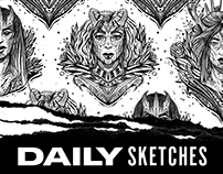 Daily Sketches: Volume 1