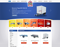 REPOTRAILERS - trailers manufacturer ecommerce