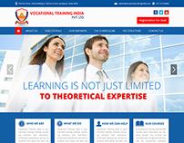 Website Design For Nursing Training Institute