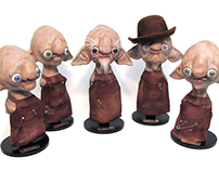 Workshop Elves- Character Busts
