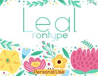Leal Fontype by LJ Design Studios