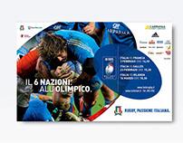 6 Nazioni 2013 - Campagna ADV