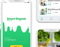 Organic Food Delivery Mobile Ui