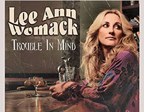 "Lee Ann Womack - Trouble In Mind 12"" single"