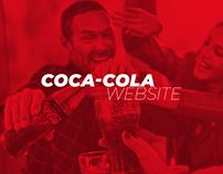 Coca-Cola | Landing page