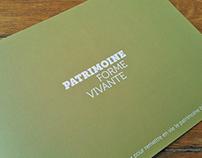 Patrimoine Forme Vivante, micro-promotion