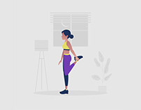 Workout Illustration 03