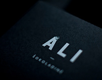Ali. Luxury chocolate brand