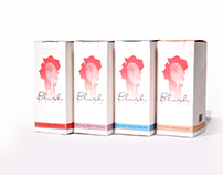 Blush Wine Packaging