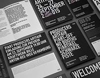 P/ART producers artfair - corporate design