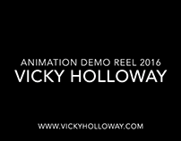 Updated Animation Demo Reel for 2016