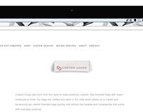 CUSTOM CARGO - WEB DESIGN