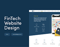 P1 - Fintech Website Design