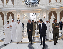 Italian Prime Minister Visiting ALHAZM Video
