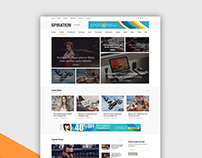 Spiration - Corporate and Magazine HTML Template