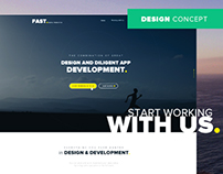 Fast Digital Production - Web Design