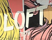Loft 1970 Pop-Art