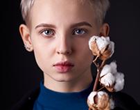 Dasha. Portrait