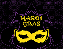 New Orleans Cigar Company, Mardi Gras (Package / Label)