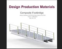 Composite footbridge