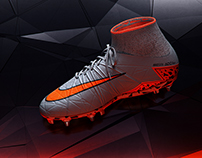3D Product Visualization - Nike Hypervenom (Phantom II)
