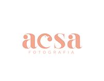 Identidade visual - Acsa Fotografia