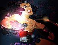 Wonder Woman warm up sketch