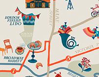 Hackney Map