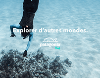 Patagonia - UX/UI - Pêche sous-marine