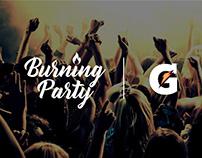 GATORADE/ Burning Party