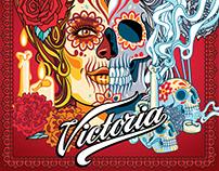 Victoria Día De Los Muertos