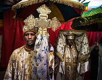 Ethiopian Epiphany day in Athens