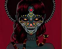 Witch portrait 2 (gif)
