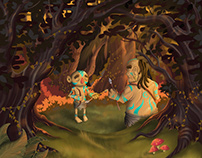 El Regalo de Cenek - Ilustración