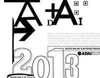 ADAI Student Exhibition Poster 2013