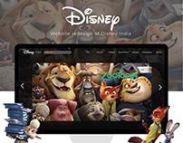 Disney India Redesign