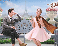 Angelababy and Li Yi Feng for Dove Campaign