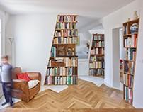 Arsenal apartment by h2o architectes